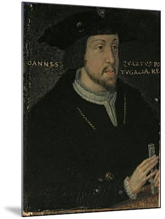 King John I 'the Great', or 'the Bastard' of Portugal, late 16th century--Mounted Giclee Print
