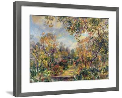 Landscape at Beaulieu, c.1893-Pierre-Auguste Renoir-Framed Giclee Print
