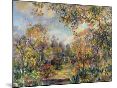 Landscape at Beaulieu, c.1893-Pierre-Auguste Renoir-Mounted Giclee Print