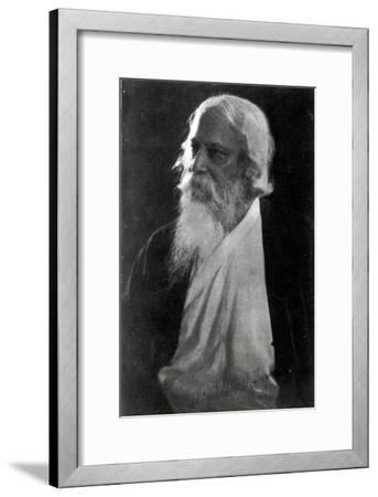 Sir Rabindranath Tagore--Framed Giclee Print