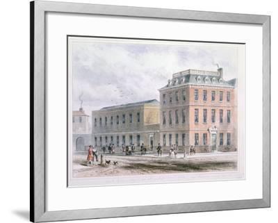 View of Soho Square and Carlisle House-Thomas Hosmer Shepherd-Framed Giclee Print