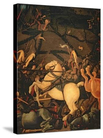 The Battle of San Romano in 1432, c.1456-Paolo Uccello-Stretched Canvas Print