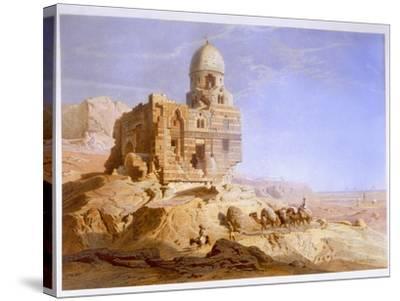 Tombs of the Khalifs, Cairo, 1871-Carl Friedrich Heinrich Werner-Stretched Canvas Print