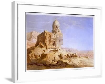 Tombs of the Khalifs, Cairo, 1871-Carl Friedrich Heinrich Werner-Framed Giclee Print