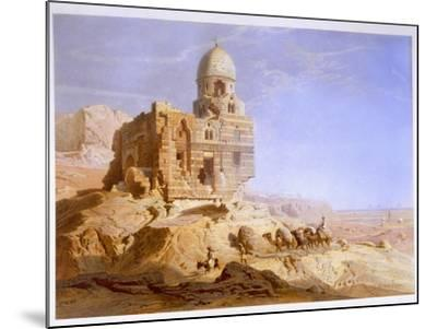 Tombs of the Khalifs, Cairo, 1871-Carl Friedrich Heinrich Werner-Mounted Giclee Print