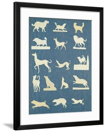Study of Dogs-Philipp Otto Runge-Framed Giclee Print