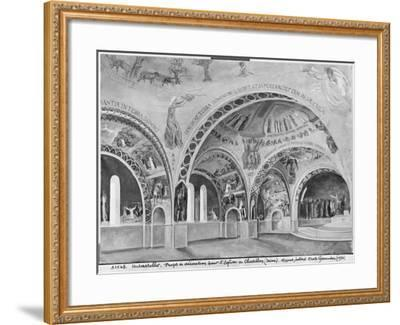 Set Design for the Church of Chatillon-Nicolas Untersteller-Framed Giclee Print