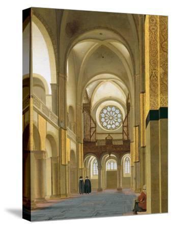 Interior of the Marienkirche in Utrecht, 1638-Pieter Jansz Saenredam-Stretched Canvas Print