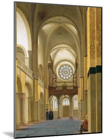 Interior of the Marienkirche in Utrecht, 1638-Pieter Jansz Saenredam-Mounted Giclee Print
