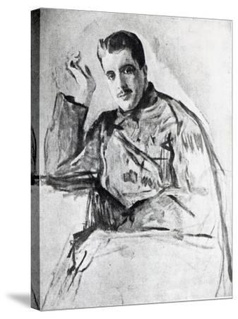Serge Diaghilev, 1904-Valentin Aleksandrovich Serov-Stretched Canvas Print