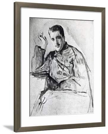 Serge Diaghilev, 1904-Valentin Aleksandrovich Serov-Framed Giclee Print