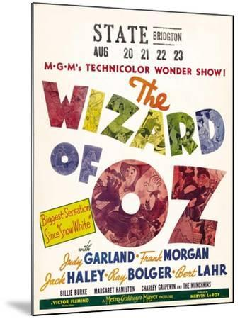 The Wizard of Oz, 1939--Mounted Art Print