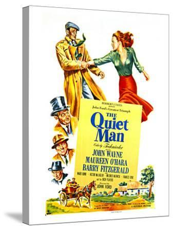 The Quiet Man, 1952--Stretched Canvas Print