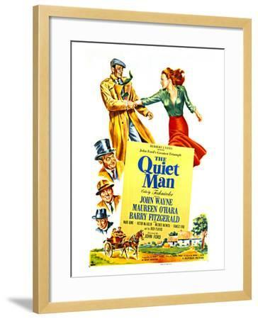 The Quiet Man, 1952--Framed Art Print