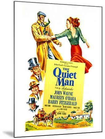 The Quiet Man, 1952--Mounted Art Print