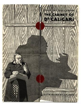 The Cabinet of Dr. Caligari, 1919--Framed Art Print