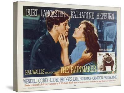 The Rainmaker, 1956--Stretched Canvas Print