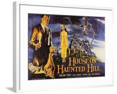 House On Haunted Hill, 1958--Framed Art Print