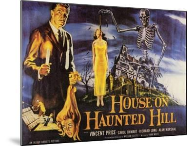House On Haunted Hill, 1958--Mounted Art Print
