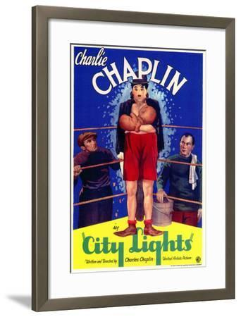 City Lights, 1931--Framed Art Print