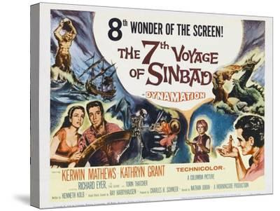 The 7th Voyage of Sinbad, 1958--Stretched Canvas Print