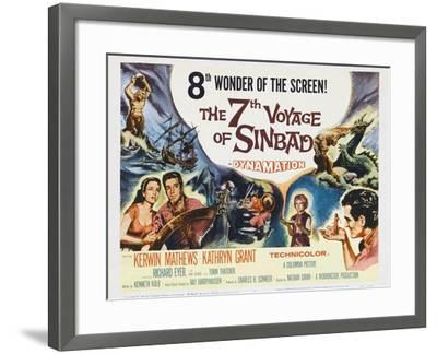 The 7th Voyage of Sinbad, 1958--Framed Art Print