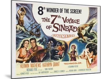 The 7th Voyage of Sinbad, 1958--Mounted Art Print