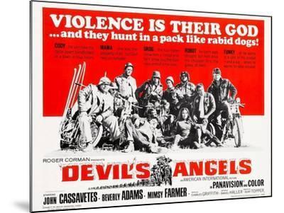 Devil's Angels, 1967--Mounted Art Print