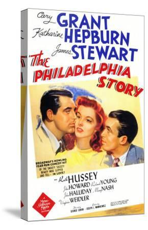 The Philadelphia Story, 1940--Stretched Canvas Print