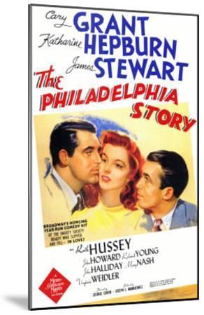 The Philadelphia Story, 1940--Mounted Art Print