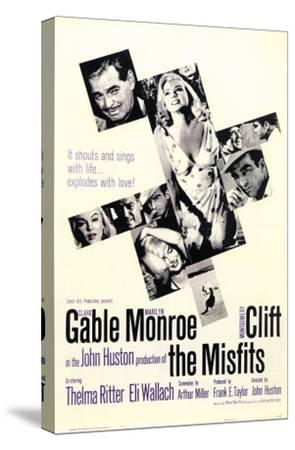 The Misfits, 1961--Stretched Canvas Print