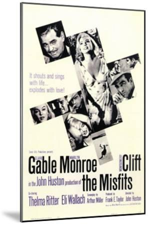 The Misfits, 1961--Mounted Art Print