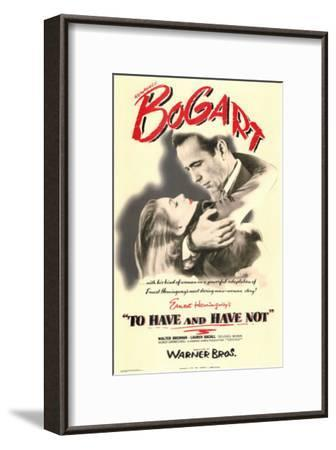 To Have and Have Not, 1944--Framed Art Print