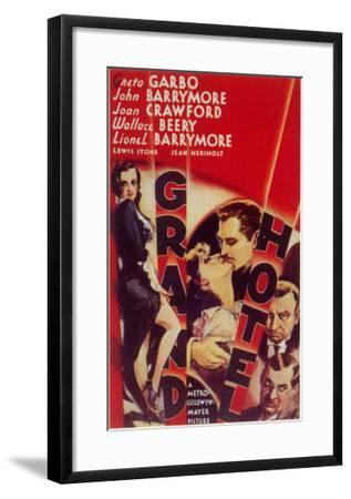 Grand Hotel, 1932--Framed Art Print