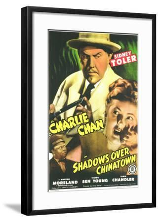 Shadows Over Chinatown, 1946--Framed Art Print