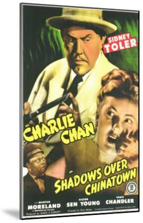 Shadows Over Chinatown, 1946--Mounted Art Print