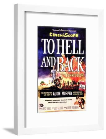 To Hell and Back, 1955--Framed Art Print