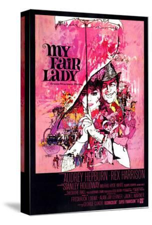My Fair Lady, 1964--Stretched Canvas Print