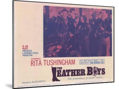 The Leather Boys, 1966--Mounted Art Print