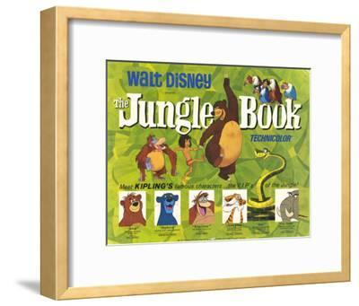 The Jungle Book, 1967--Framed Art Print