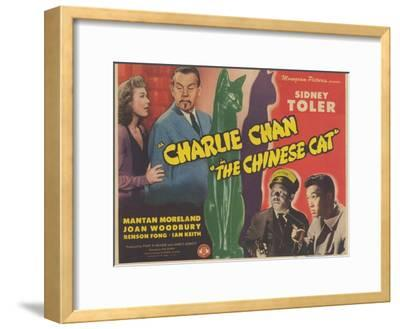 The Chinese Cat, 1944--Framed Art Print