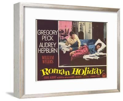 Roman Holiday, 1953--Framed Art Print
