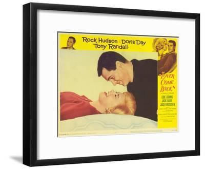 Lover Come Back, 1962--Framed Art Print