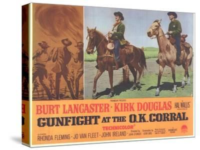Gunfight at the O.K. Corral, 1963--Stretched Canvas Print