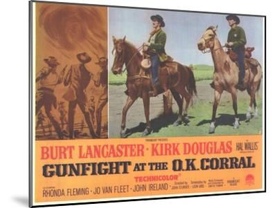 Gunfight at the O.K. Corral, 1963--Mounted Art Print