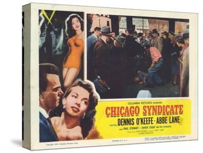 Chicago Syndicate, 1955--Stretched Canvas Print