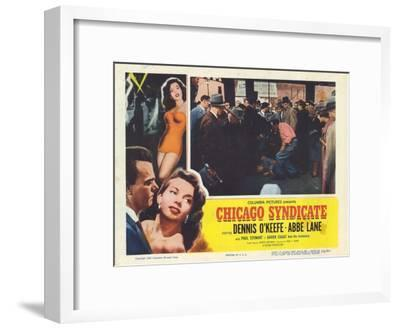 Chicago Syndicate, 1955--Framed Art Print
