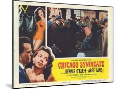 Chicago Syndicate, 1955--Mounted Art Print