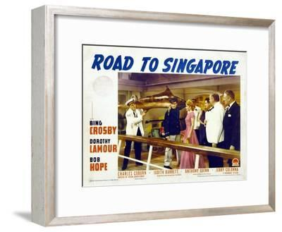 Road to Singapore, 1940--Framed Art Print