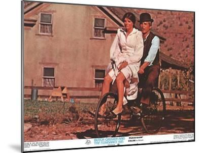 Butch Cassidy and the Sundance Kid, 1969--Mounted Art Print